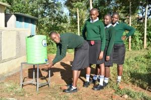 The Water Project: Ebubole UPC Secondary School -  Handwashing The Good Practice