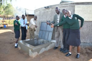 The Water Project: Ebubole UPC Secondary School -  Handing Over And Dedication