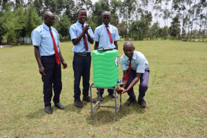 The Water Project: Friends School Vashele Secondary -  Handwashing Stations At The School