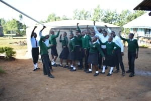 The Water Project: Ebubole UPC Secondary School -  Celebrations At The Water Point