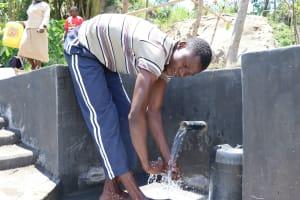 The Water Project: Mahira Community, Kusimba Spring -  Cooling Off