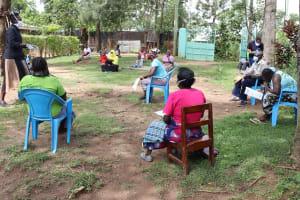 The Water Project: Masera Community, Salim Hassan Spring -  Ongoing Sensitization Training