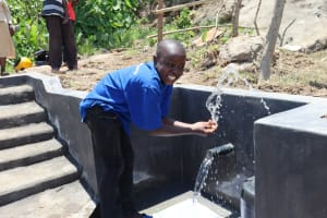 The Water Project: Mahira Community, Kusimba Spring -  Water Celebrations