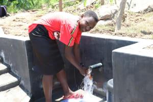 The Water Project: Mahira Community, Kusimba Spring -  Celebrating The Spring