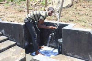 The Water Project: Mahira Community, Kusimba Spring -  Splash