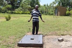 The Water Project: Mahira Community, Kusimba Spring -  Posing With A Sanplat