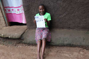 The Water Project: Masera Community, Ernest Mumbo Spring -  Use Of Handouts At The Training