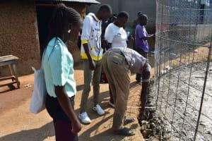 The Water Project: Ebubole UPC Secondary School -  Taking Measurements