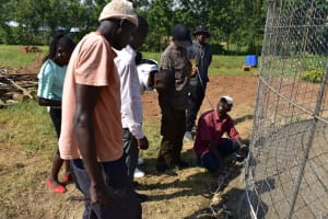 The Water Project: Ebubole UPC Secondary School -  The Wire Mesh