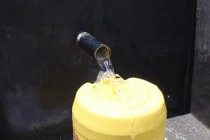 The Water Project: Mahira Community, Kusimba Spring -  Flowing Water