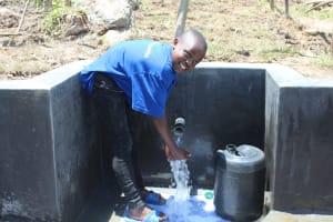 The Water Project: Mahira Community, Kusimba Spring -  Happy Day