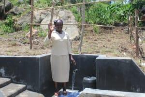 The Water Project: Mahira Community, Kusimba Spring -  Thank You
