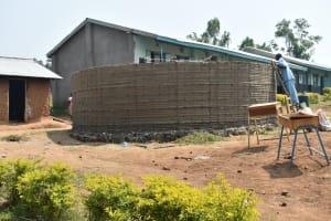 The Water Project: Ebubole UPC Secondary School -  Wall Construction