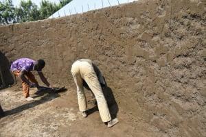 The Water Project: Ebubole UPC Secondary School -  Interior Cement Work