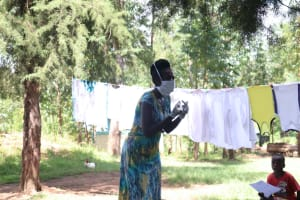 The Water Project: Shibuli Community, Khamala Spring -  Remember To Always Wear A Mask At All Times When In Public