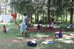 The Water Project: Shibuli Community, Khamala Spring -  Training In Session At Khamala Spring