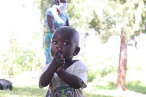 The Water Project: Shibuli Community, Khamala Spring -  Training Is For All Ages