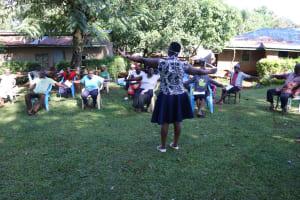 The Water Project: Shilakaya Community, Shanamwevo Spring -  Social Distance Check