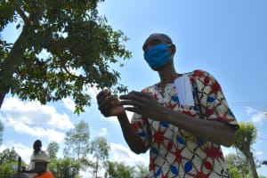 The Water Project: Musango Community, Jared Lukoko Spring -  An Elder Reacts To Training