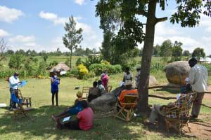 The Water Project: Musango Community, Jared Lukoko Spring -  Mask Making Training