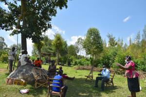 The Water Project: Musango Community, Jared Lukoko Spring -  Proper Handwashing Demonstration