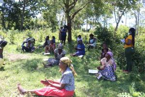 The Water Project: Isembe Community, Amwayi Spring -  The Handwashing Demonstration