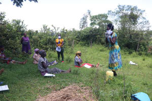 The Water Project: Isembe Community, Amwayi Spring -  Wear A Mask Whenever You Step Out Of Your House
