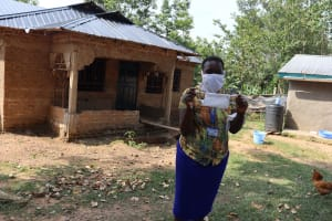 The Water Project: Ematetie Community, Chibusia Spring -  A Complete Mask