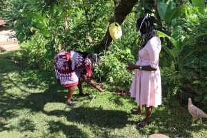 The Water Project: Koloch Community, Solomon Pendi Spring -  Installed Leaky Tin In The Community