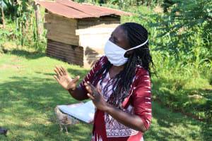 The Water Project: Koloch Community, Solomon Pendi Spring -  Trainer Shigali Conducting Training