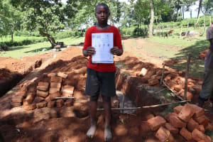 The Water Project: Samisbei Community, Isaac Rutoh Spring -  Handouts Translated To Local Languages Used At The Training