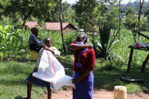 The Water Project: Bukhakunga Community, Khayati Spring -  Cough Or Sneeze Into Elbow To Reduce Virus Spread