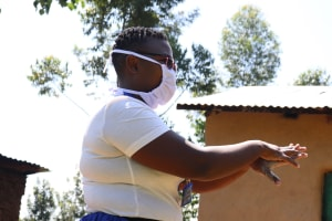 The Water Project: Bukhakunga Community, Khayati Spring -  Handwashing Time