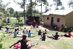 The Water Project: Bukhakunga Community, Khayati Spring -  Social Distancing At The Training