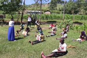 The Water Project: Bukhakunga Community, Khayati Spring -  Visual Aids Used In Transmission Lesson