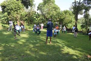The Water Project: Mukoko Community, Mukoko Spring -  Mrs Afandi Leading The Session
