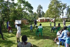 The Water Project: Mukoko Community, Mukoko Spring -  Training In Progress