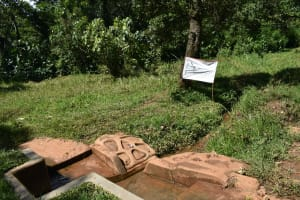 The Water Project: Sichinji Community, Makhatse Spring -  Makhatse Spring
