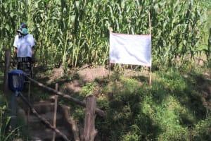 The Water Project: Bukhakunga Community, Mukomari Spring -  Installed Reminder Chart At The Spring