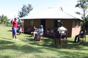 The Water Project: Bukhakunga Community, Mukomari Spring -  Ongoing Sensitization Training