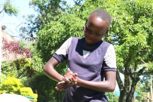 The Water Project: Bukhakunga Community, Mukomari Spring -  Proper Handwashing Training