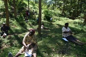 The Water Project: Wajumba Community, Wajumba Spring -  Demonstration Of Ten Steps Of Handwashing
