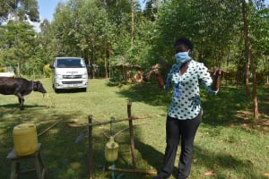 The Water Project: Musango Community, Mwichinga Spring -  Soap Is Important In Fighting The Virus