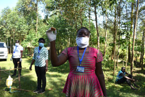 The Water Project: Musango Community, Mwichinga Spring -  Use Soap To Fight The Virus