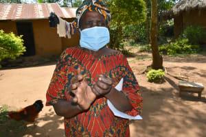 The Water Project: Musango Community, Mushikhulu Spring -  Clean Hands Keep Virus At Bay