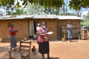 The Water Project: Musango Community, Mushikhulu Spring -  Handwashing Demonstration