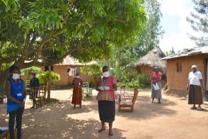 The Water Project: Musango Community, Mushikhulu Spring -  Social Distancing