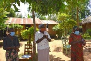 The Water Project: Musango Community, Mushikhulu Spring -  Women At The Frontline Fighting Covid