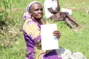 The Water Project: Mukhuyu Community, Kwawanzala Spring -  She Was Listening Keenly
