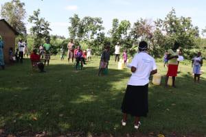 The Water Project: Mukhuyu Community, Kwakhalakayi Spring -  The Facilitator Leading A Training At Makhuyu Kwakhalakayi Spring